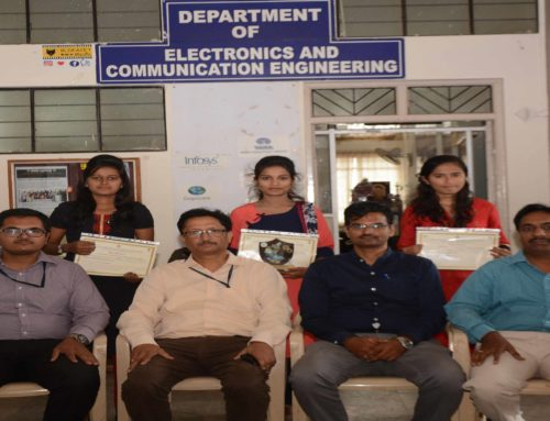 KSCST- 41st Series, Best Project of the Year